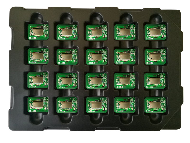 TapNLink NFC-BLE modules tray