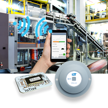 TapNLink Wi-Fi modules with NFC for HMI on Mobiles