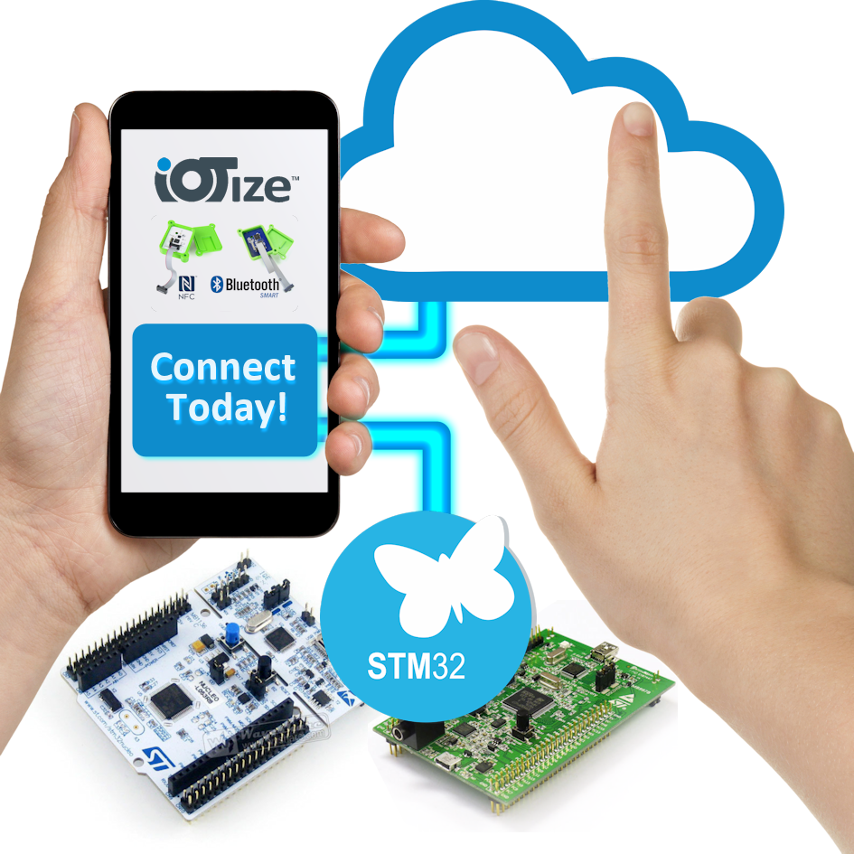IoTize STM32 Nucleo