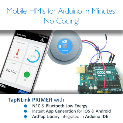 TapNLink Primer available now from Digi-Key!