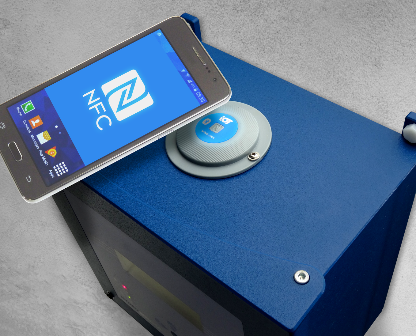 IoTize TapNLink NFC Bluetooth Connectivity Solutions