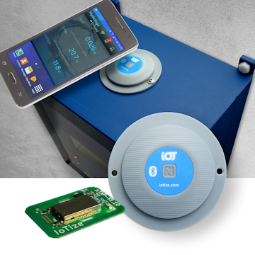 TapNLink Bluetooth Low Energy & NFC for HMI on Mobiles
