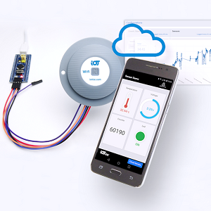TapNLink Primer WiFi, BLE, NFC for instant HMI on mobiles and Cloud data logging