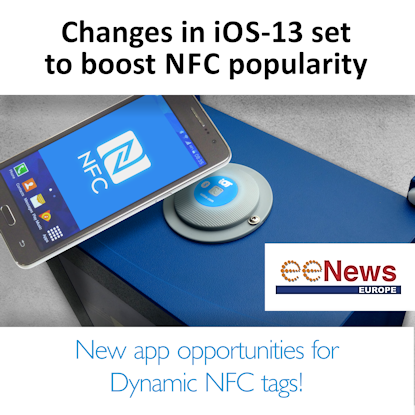eeNews: iOS-13 set to boost NFC popularity!