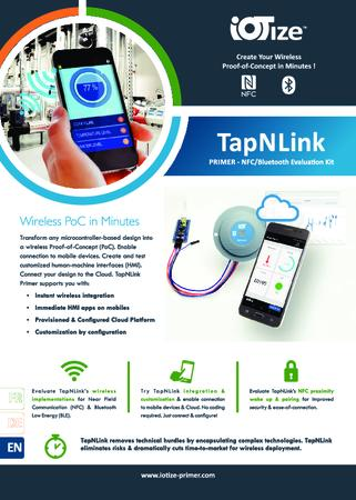 TapNLink Primer NFC-BLE Evaluation Kit